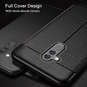 Image 3 - Dành Cho Huawei Mate 20 Lite Case Mate 20 Lite Bao Da Mềm Mại Ốp Lưng TPU Họa Tiết Da Silicone Chắc Chắn Dành Cho Huawei giao Phối 20 Lite