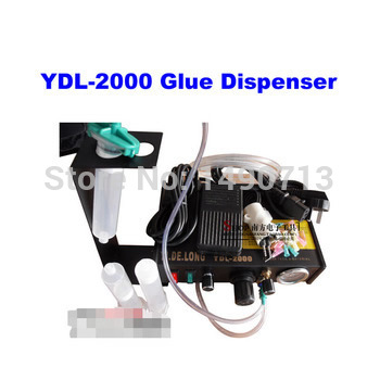 YDL-2000 Semi-automatic Glue Dispenser AB UV Glue Dispenser Solder Paste Liquid Controller for SMD PCB купить дешево онлайн