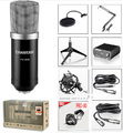 Studio Recording set suit professional studio microphone+ Takstar Pro-80+free Phantom Power cantilever support free shipping