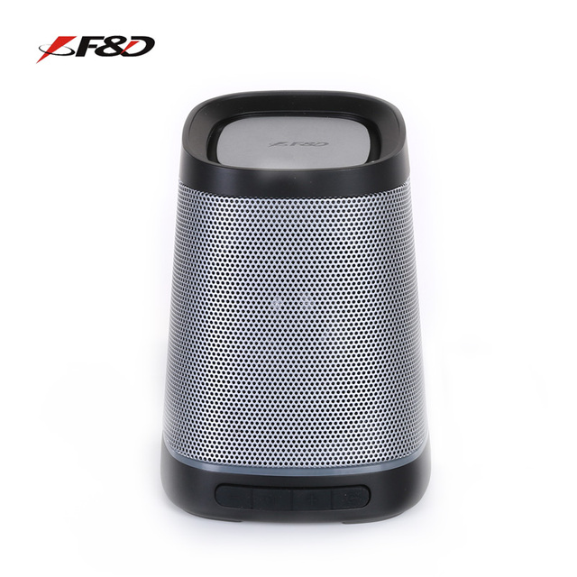 F D W7 Wireless Portable Tf Sound Box Handsfree 5 Hours Working Full Range Bluetooth Speakers For