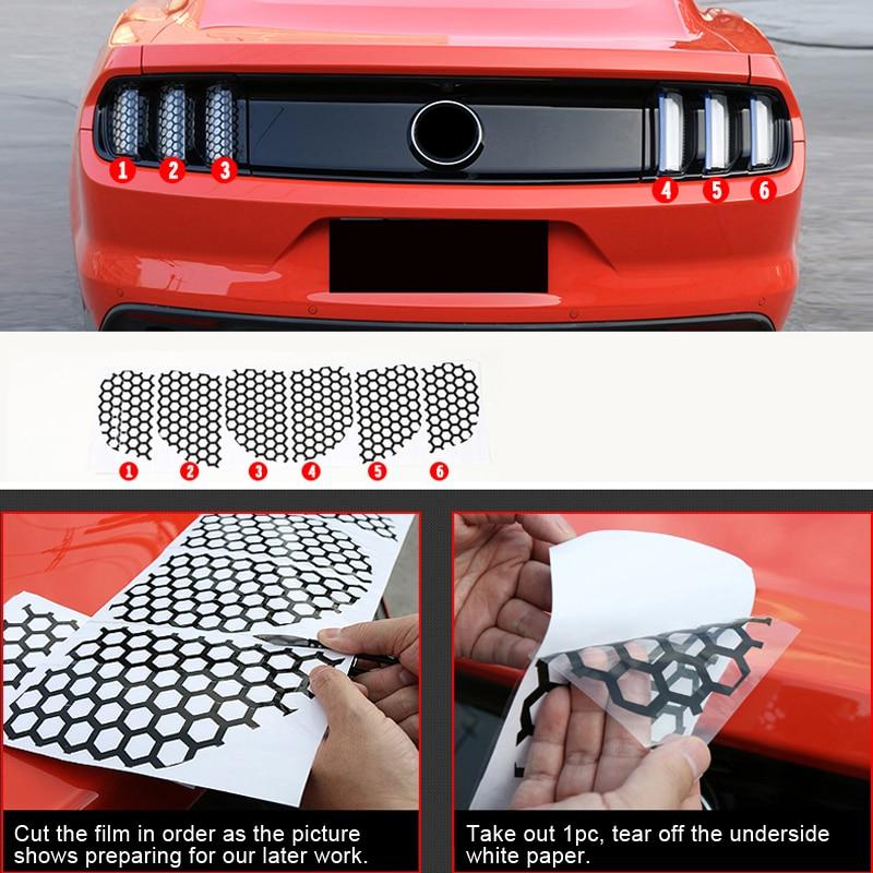 Dla Ford Mustang 2015 2016 2017 O Strukturze Plastra Miodu Styl