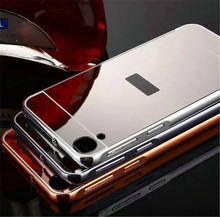 Fashion Luxury Rose Gold Mirror Case For HTC Desire D820 shell Back Cover for htc 820
