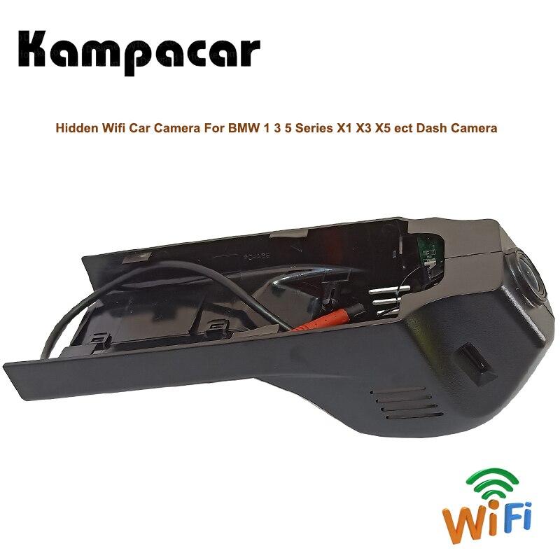 Kampacar HD Car Wifi DVRs Camera Video Recorder Car Registrator For BMW 1 3 5 Series