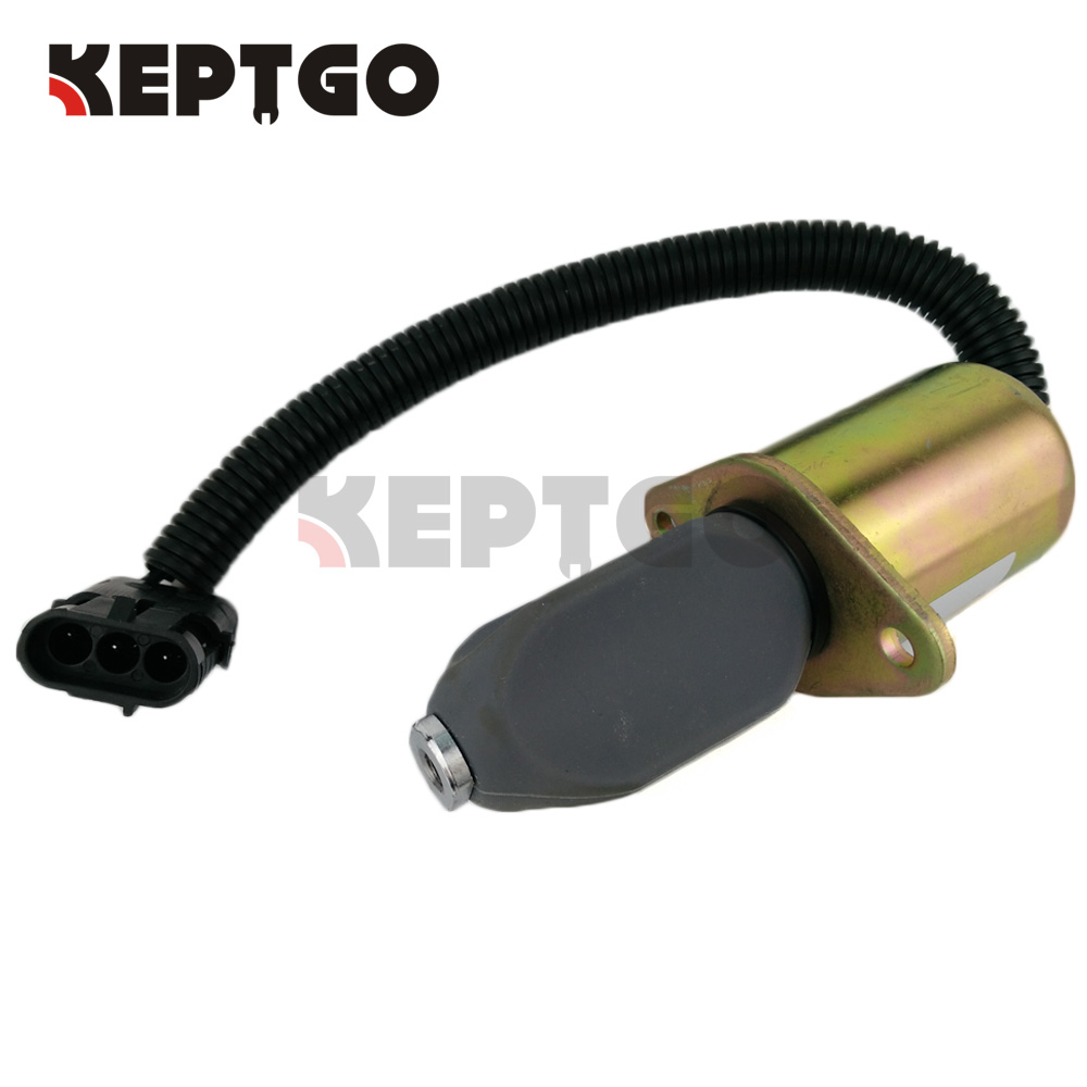 New Fuel Cutoff Solenoid For 743 645 643 Bobcat Skidsteer Kubota 6681513 6667993 3832211 3934972 bobcat новый