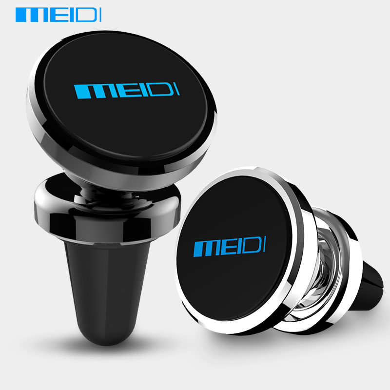 MEIDI Universal Car Phone Holder 360 Degree font b GPS b font Magnetic Mobile Phone Holder