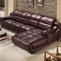 high quality European living room leather sofa o1211