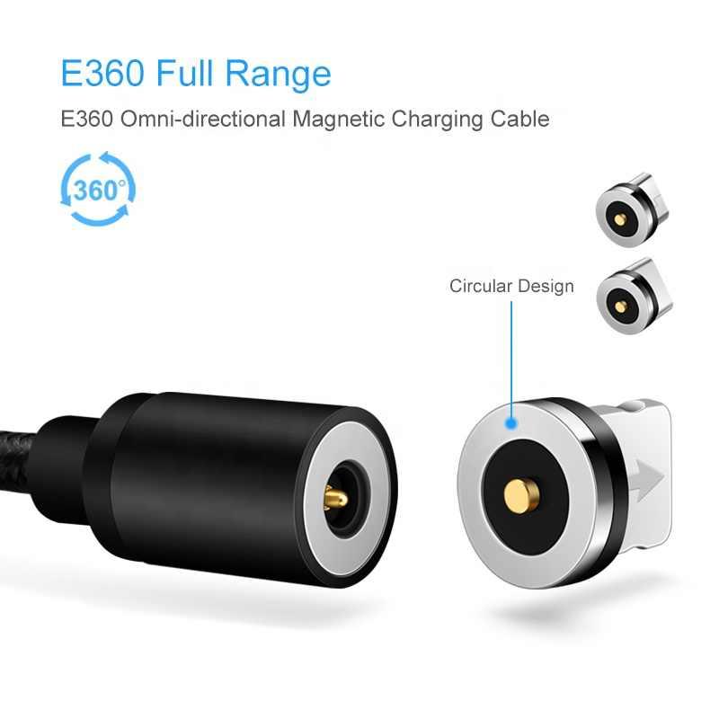 Magnetico Micro USB Cavo Adattatore USB di Tipo C Del Telefono Mobile Per il iphone Samsung Tipo-c di Ricarica di Carica Caricatore Magnete cavi