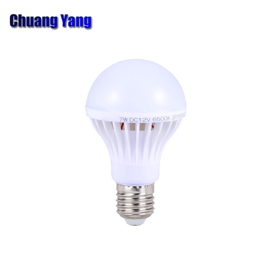Super Bright 12V Led Bulb Lights Camping E27 3W 5W 7W 9W 12W 15W DC12V Led Lamp Energy Saving Lampada For Outdoor Lighting