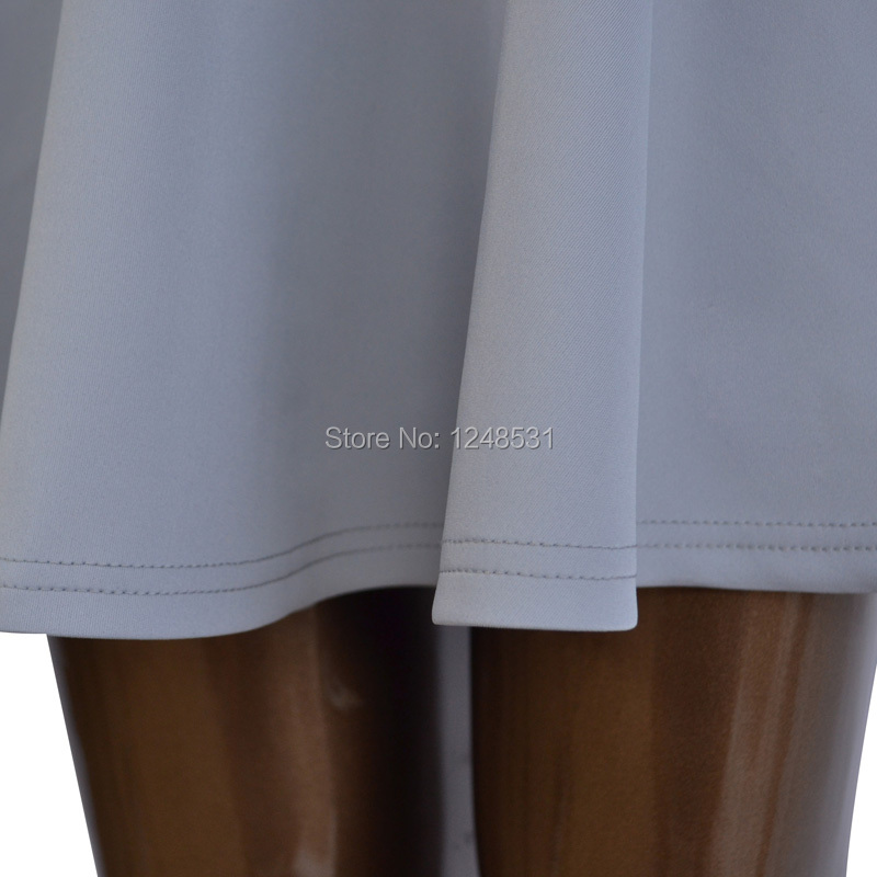ingyenes szállítás Női Flared Skater szoknya Basic Solid Color - Női ruházat - Fénykép 5