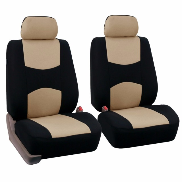 2 front seat Universal Car Seat Cover for volkswagen vw passat b5 b6 polo golf tiguan 5 6 7 jetta touran touareg accessories