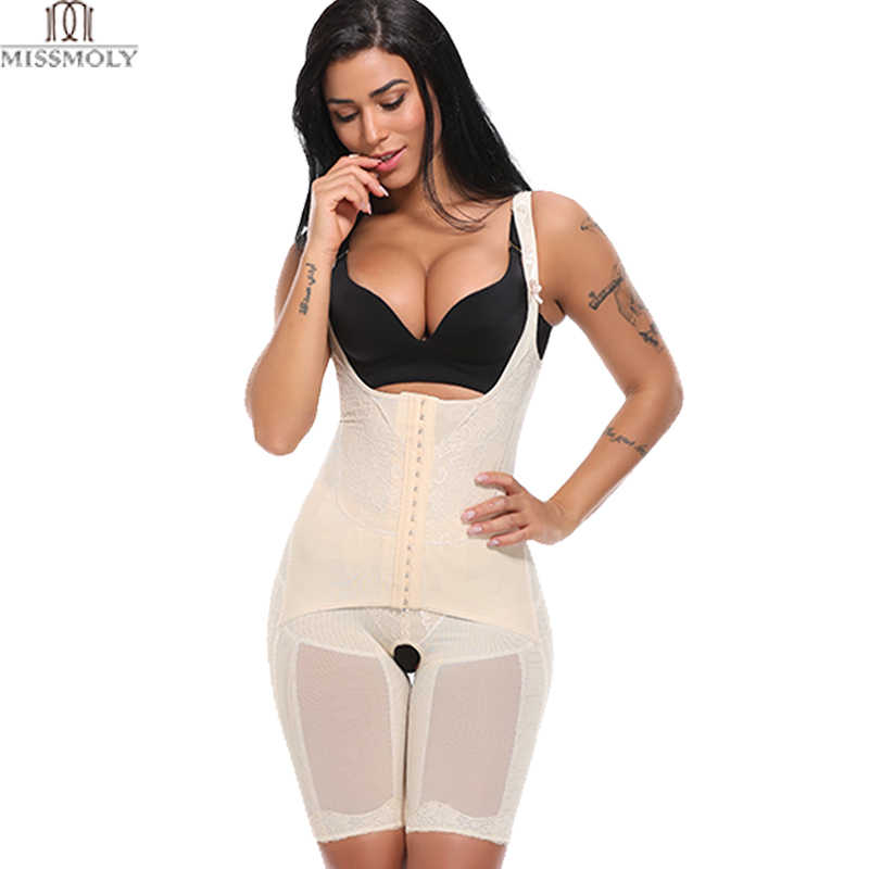 28f4aa749d Miss Moly Full Body Shaper Invisible Butt Lifter Corset Push Up Recovery Shapewear  Modeling Belt Women