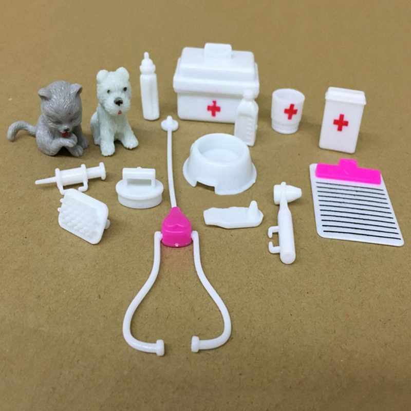 Logical Medical Equipment Box Doctor Nurse Tools Toys Kit For Doll Pretend Play Set Fashionable Patterns