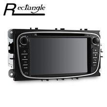 9 pulgadas Android 5.1 Quad-Core Coches Reproductor de DVD de Vídeo Estéreo DU7009 7 Pulgadas Doble Din En el tablero de Soporte de Control Remoto Mic para Ford