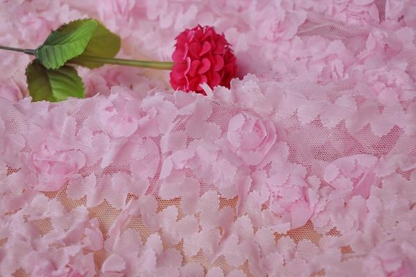 Lace and Chiffon Flowers