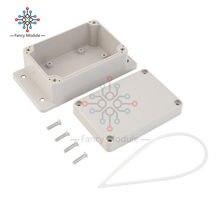 防水 100 × 68 × 50 ミリメートルのプラスチック電子プロジェクトボックスエンクロージャケース