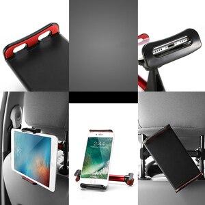 Image 4 - 자동차 전화 홀더 뒷좌석 태블릿 스탠드 브래킷 화웨이 Mediapad X2 X1 T3 7 10 M3 Lite M5 P20 Lite for iPhone XS Max X 삼성 S9