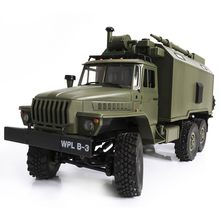 WPL B36 Ural 1/16 2.4G 6WD RC Car Military Truck Rock Crawler Command Communication Vehicle RTR Toy Auto Army Trucks(China)