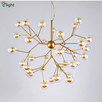Post Modern Double Glass Lampshades G4 Led Pendant Lamp Lustre Pendant Lights For Living Room Luminaria Suspend Lamp Lamparas
