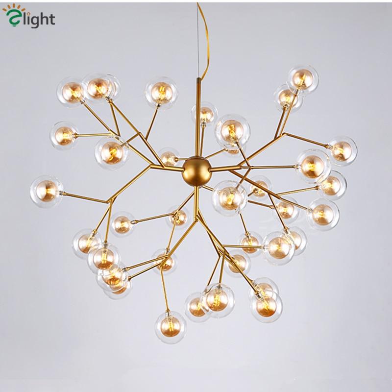 Post Moderno Doppio Paralumi di Vetro G4 Ha Condotto La Lampada a Sospensione Lustre Lampade A Sospensione Per Soggiorno Luminaria Sospendere Lampada Lamparas
