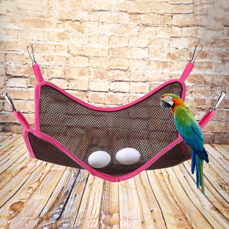 Summer Ferret Hammock Breathable Sandwich Mesh Cloth Pet Cat Squirrel Hanging Swing Hamster Bed Soft House Cage Kitten Toy