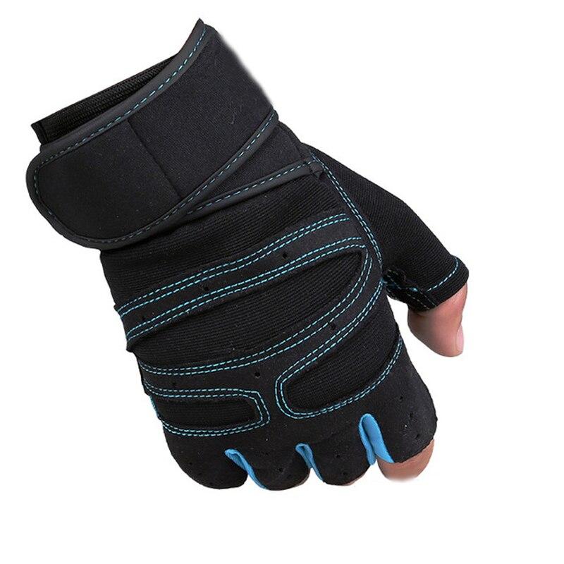 2019 deportes gimnasio cuerpo entrenamiento Fitness guantes equipo deportivo levantamiento de pesas ejercicio gimnasio transpirable muñeca envoltura