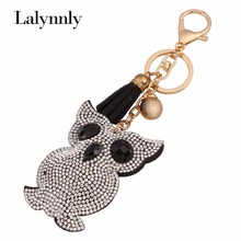 Cartoon Key Chains Qwl Leather Key Rings Car Key Cover Volkswagen for Men Women With Rhinestones Set New Hot Wholesale K00451