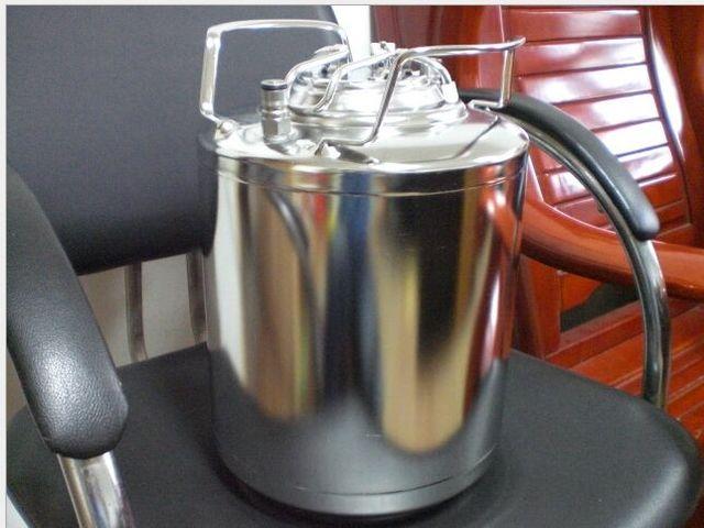 6L Ball Lock homebrew beer Corny Keg  304 stainless steel cornelius kegs, Pepsi kegs, soda wine barrel