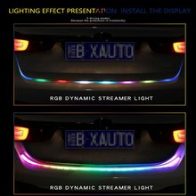 лучшая цена car Turn Signal lamps Led strip Brake warning light Tail Light led drl daytime running light Brake Light Car Styling