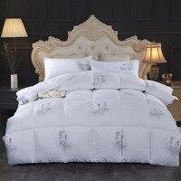 Klonca 3kg~5kg luxury velvet cotton down quilt thick winter duvet soft warm comforter bedding filler 2019 bedclothes