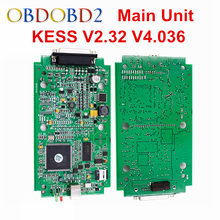 Основной Блок KESS V2.32 KESS V2 OBD2 Менеджер Тюнинг Комплект HW V5.017 V4.036 Без Лексем Ограничено Kess Мастер Версия KESS ЭКЮ Программист