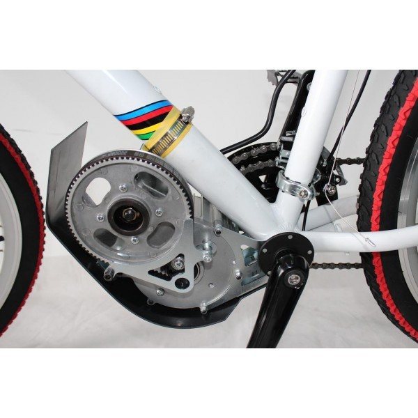 Standard 48v 500w Brushless Geared Mid Drive Motor Ebike Conversion Kits With Parts Electric Bicycle Bike In From