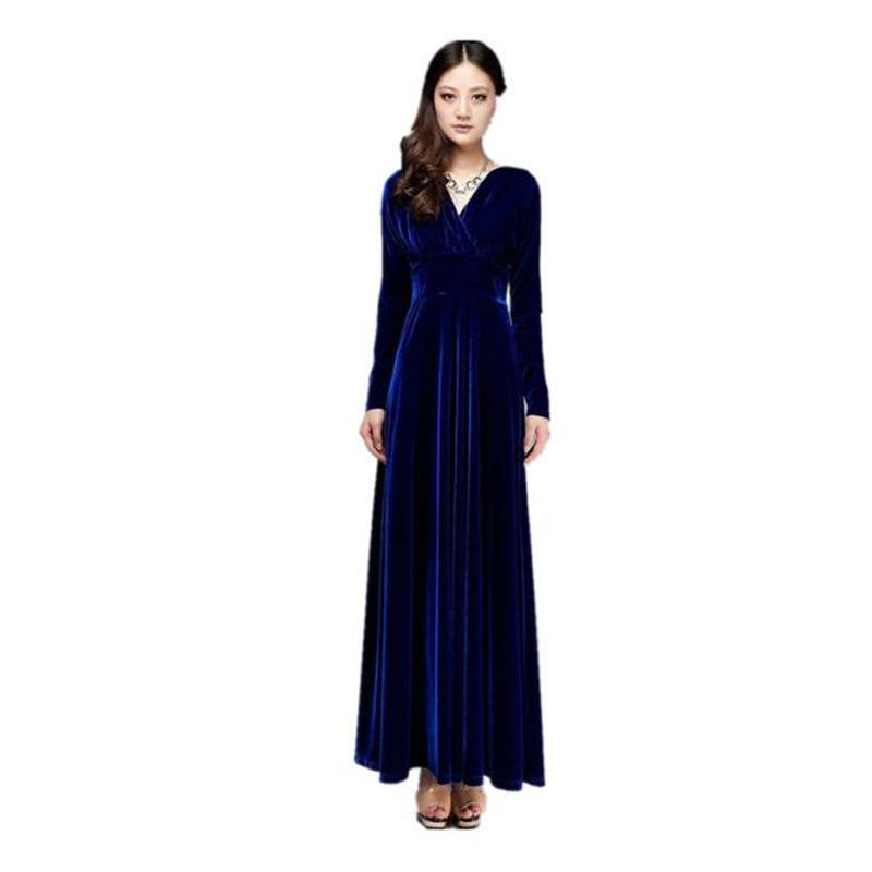 Evening Party Dress Plus Size Winter Dress Woman Casual Long Sleeve Solid Color Dress Autumn Women Vestidos Female Dresses artsu casual bodycon knitted dress slim long sleeve sexy split button midi dresses women autumn winter party vestidos asdr30434