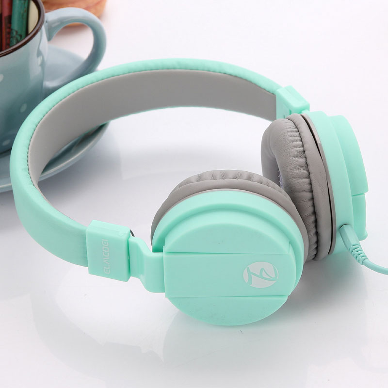 Fashion Cute Earphones Headphone Headset Candy Color Children Foldable Earphone With Microphone For Xiaomi Mp3 Smartphone Girls