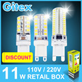 10Pcs G9 Led Bulb 220V 110V 5W 6W 7W 9W 10W 11W LED Lamp G9 SMD2835 LED Spotlight lamps G9 Replace 40W halogen lamp Bulb Light