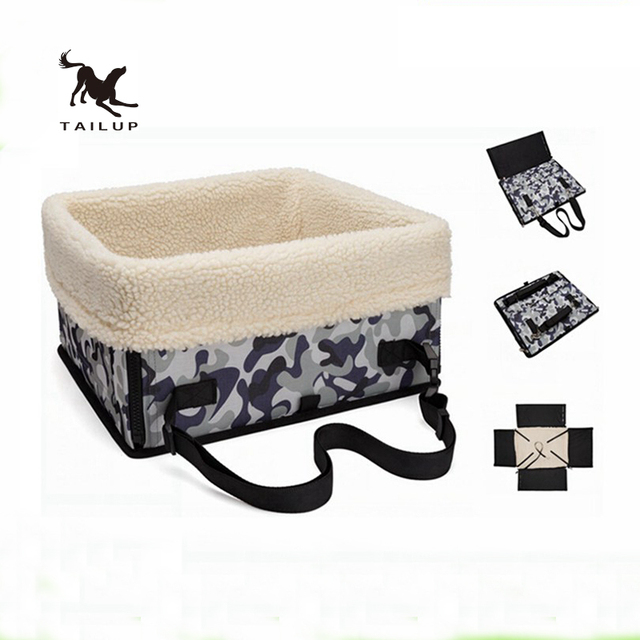 79756a9a65 TAILUP Autumn And Winter Travel Car Pet Carriers Windproof Box Carrying Chihuahua  Small Dogs And Cats