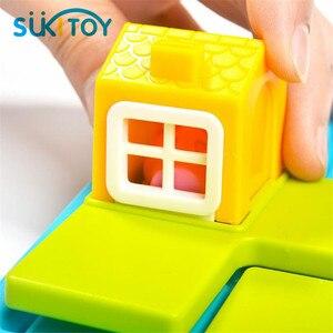 Image 4 - הסתר & Seek 48 ילדי מונטסורי החינוכי רך צעצועי הכשרת IQ אתגר ופתרון צעצועים אינטראקטיביים יצירתיים אינטליגנטית
