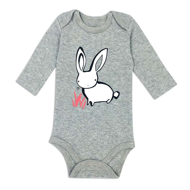 Free Shipping Baby Bodysuits Boy Girl Cotton Clothes Newborn Infant Toddler Long Sleeve Spring Summer Baby Bodysuit