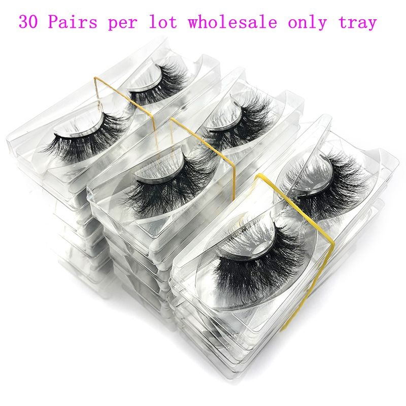 Wholesale 30 pairs no box Mikiwi Eyelashes 3D Mink Lashes Handmade Dramatic Lashes 32 styles cruelty free mink lashes