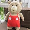 2016 High quality Movie Teddy Bear Ted 2 Plush Toys 46CM Soft Stuffed Animals Ted Bear Plush Dolls kids Birthday Gift Christmas