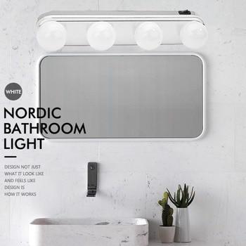 49d009cd7 Kit de luz de espejo de maquillaje de 4 LEDs súper brillantes para estudio