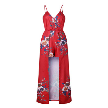 76a0d56f123 wide leg jumpsuit floral one piece rompers womens shorts jumpsuit plus size  ladies clothes playsuits combinaison femme 0456.