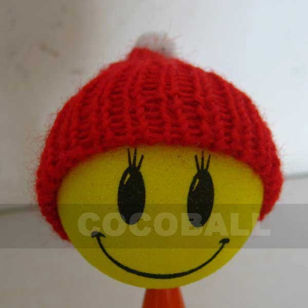 Best sale Wholesale  aerial antenna ball topper  eyelash red hat girl 10pcs
