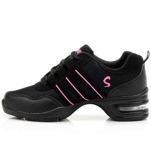 Fitness Sports Shoes Feature Soft Outsole Breath Dance Shoes Sneakers For Woman Practice Shoes Thin Modern Dance Jazz Shoes Multan
