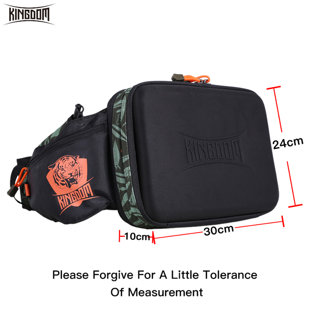 Kingdom 2019 New Waterproof Fishing Bag Large Capacity Multifunctional Fishing Lure Box Tackle Backpack Outdoor Shoulder Bags 2