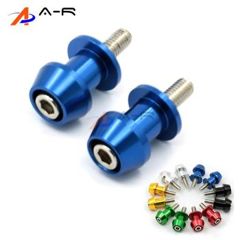 8MM Swingarm Spools Slider Stands Bobbins screw for Suzuki Bandit 1250S GSF1250S 2007 2008 2009 GSXR1000 2011 2012 2001 - 2009 image