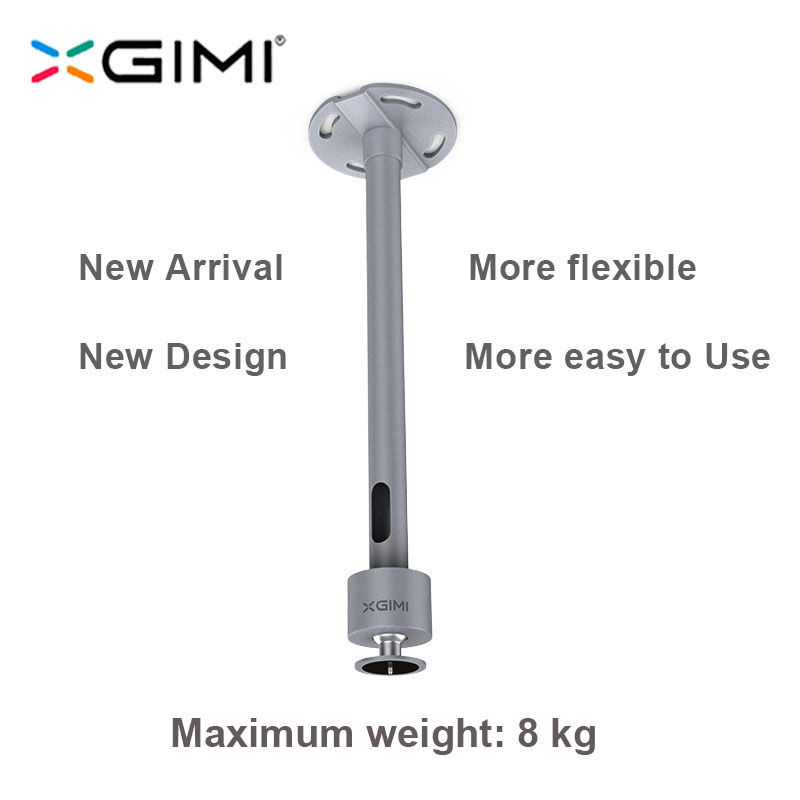 XGIMI Projector Accessories Hanger Ceiling Wall Mount with Height Adjustable for XGIMI H2 H1 CC Aurora/Z4 Aurora/ XGIMI Z3 / Z6 original xgimi bluetooth remote control for h1 z4x z4 aurora z4 air portable dlp projector