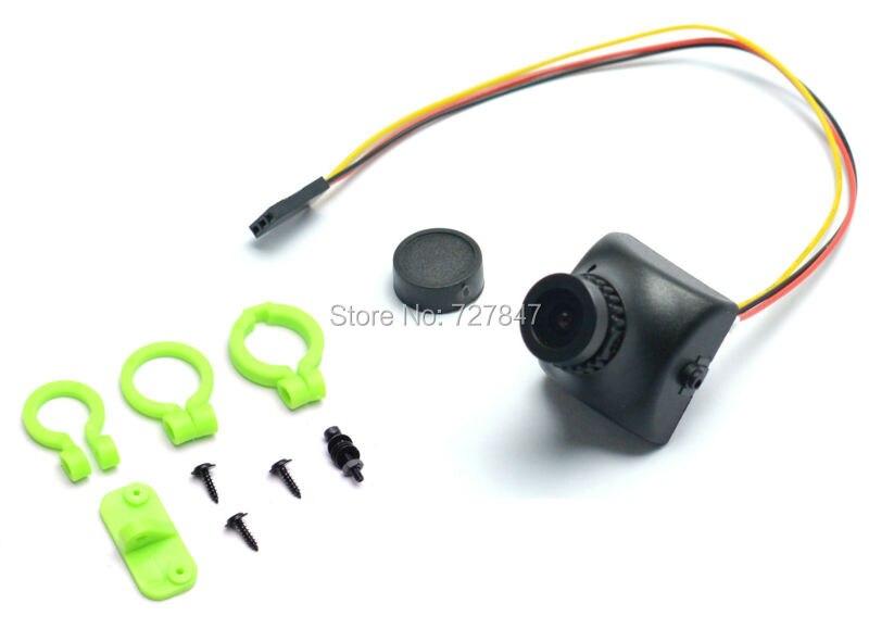 700 TVL 700TVL Caméra w/2.8mm grand angle lentille COMS Caméra objectif Trigger Réglage de L'angle Siège pour FPV Course RC Quad Drone QAV210