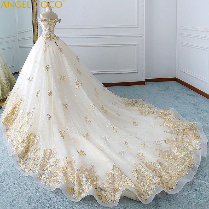 9154f1f4d420c Pregnancy Maternity Wedding Dress 2018 New Bride Wedding Court Was Thin  Large Size Long Tail Dream