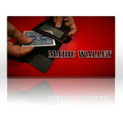 The Maric Wallet Magic Tricks Magician Appearing/Vanishes Card Wallet Magie Close Up Illusion Prop Comedy Mentalism