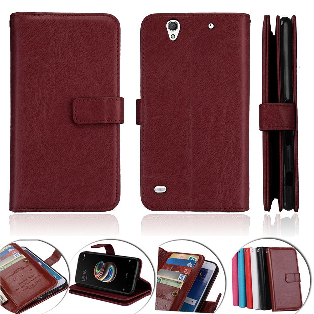 For Sony Xperia C4 Case Wallet Leather Flip Cover For Sony Xperia C4 Cover Case For Sony Xperia C4 E5303 E5306 E5353 Phone Cases